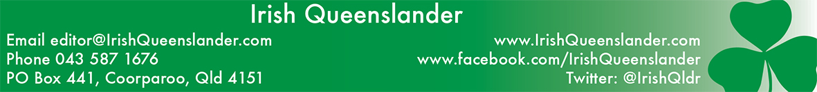 The Irish Queenslander Magazine Contact