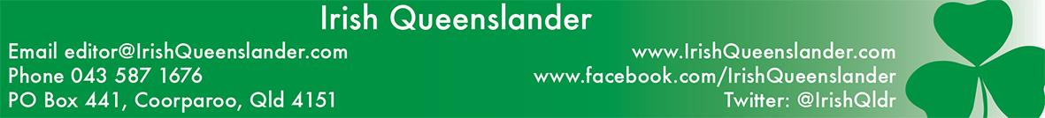The Irish Queenslander Magazine Contact