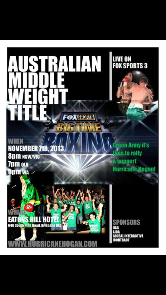 Middleweight fight