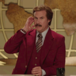 Ron Burgundy Has A Special Message For The Late Late Toy Show