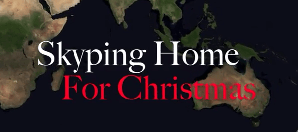 ▶ Skyping Home For Christmas YouTube
