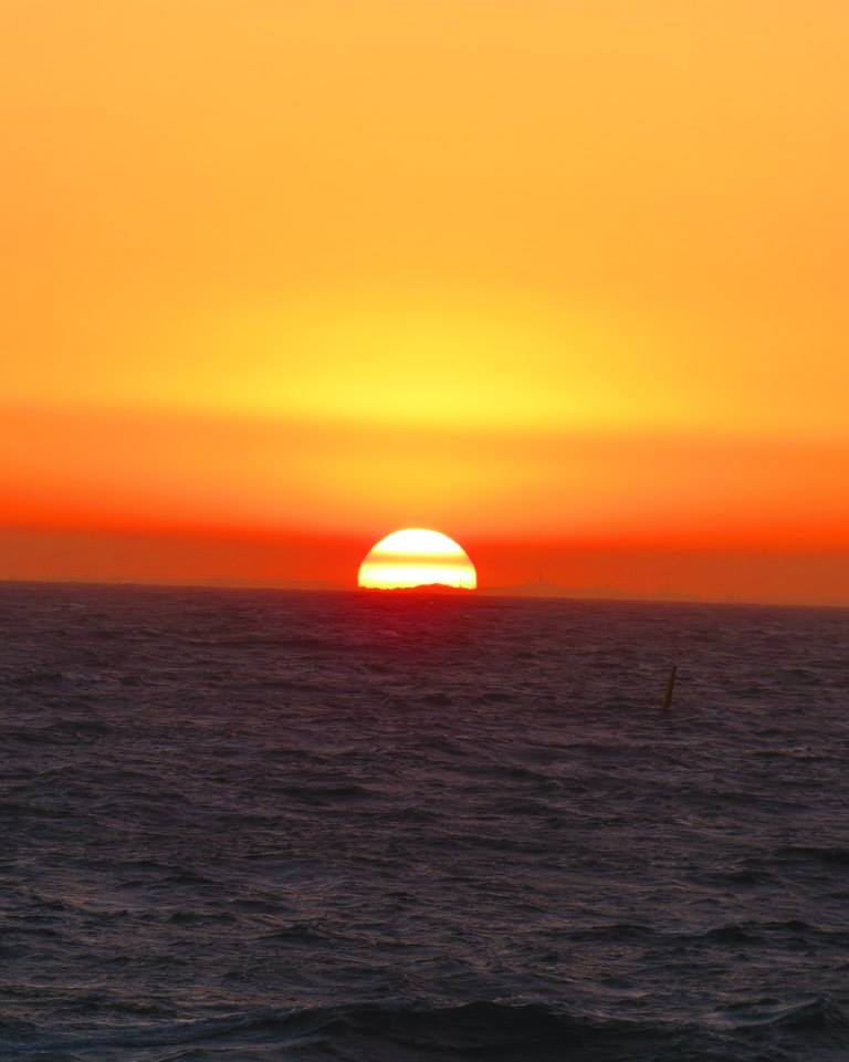 Sunset In Scarborough Beach, Perth Australia