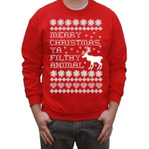 Christmas Jumper - You Filthy Anilmal