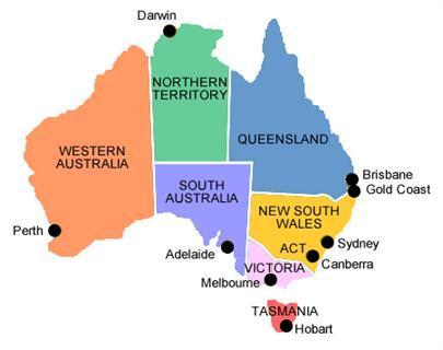 Regional Work Australia Postcodes