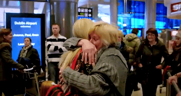 Great video of the Homecoming Bringing a loved one home