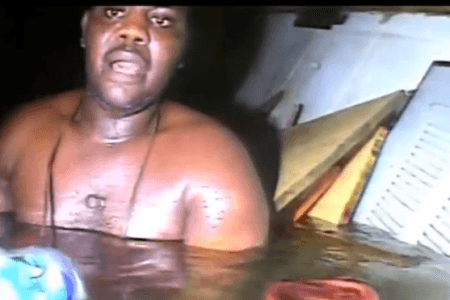 Watch epic underwater rescue of man trapped THREE DAYS under sunken ship