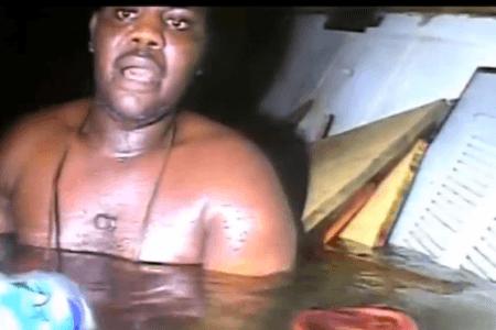Watch epic underwater rescue of man trapped THREE DAYS under sunken ship