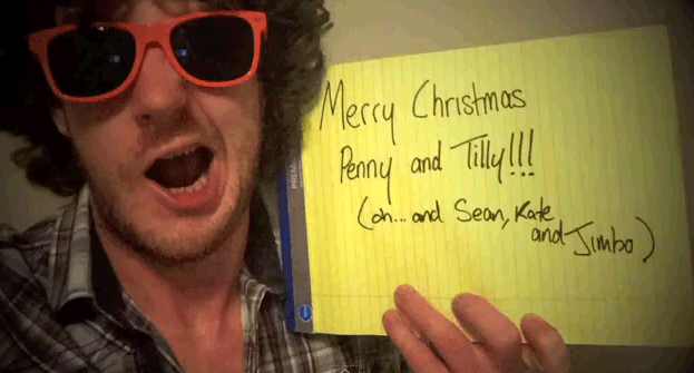 Zeon A Fairytale in New York cover Christmas message from Australia to Ireland