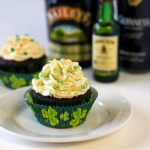 Guinness And Jameson's Whiskey Chocolate Cupcakes Recipe