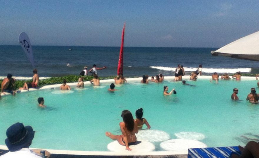 Keramas Beach Resort On The East Side Of Bali
