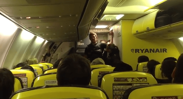 Ryanair Flight 8347 Subtitled YouTube