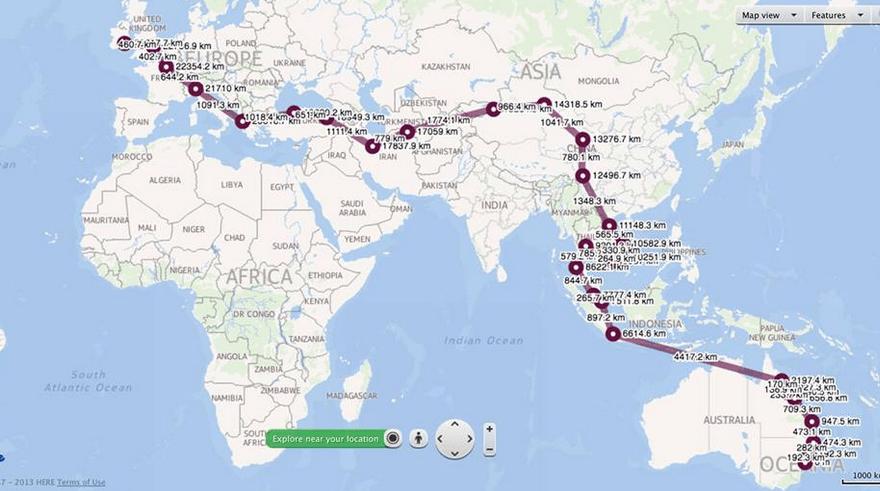 Long Way to Cork - A long long journey