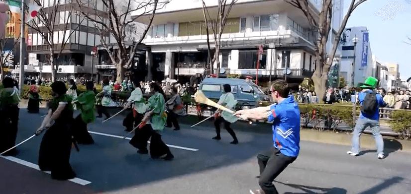 Tokyo St. Patrick s Day Parade Spot the Irishman YouTube