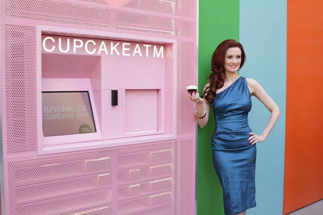 NYC Welcomes Its First Cupcake ATM for Your 24-Hour Sweet Tooth