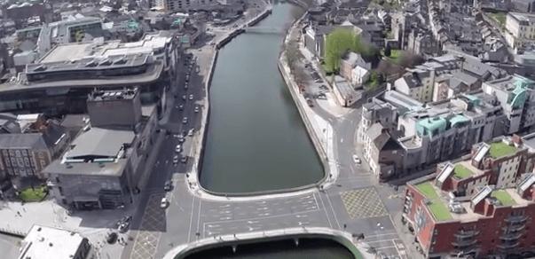 Flight over Cork city YouTube