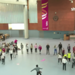 Irish Dancing Flashmob Arrives At Shannon Airport