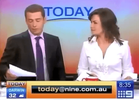 News Anchor Reads Offensive Joke On Air YouTube