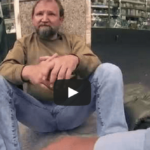Video: 3 German Students Ask A Homeless Guy For His Bucket..