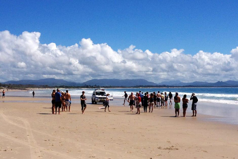 FATAL SHARK ATTACK IN BYRON BAY