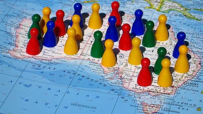 Where Australia's immigrants were born