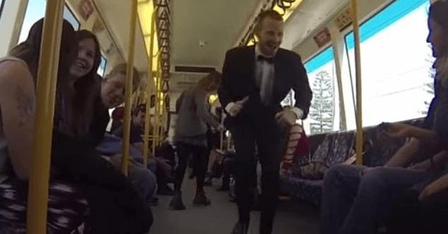 Perth Train Party Video
