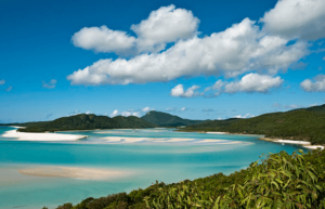 White Christmas in Australia at Whitsunday Beaches