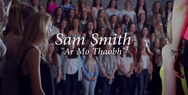 Ar Mo Thaobh Stay With Me le Sam Smith as Gaeilge YouTube (1)