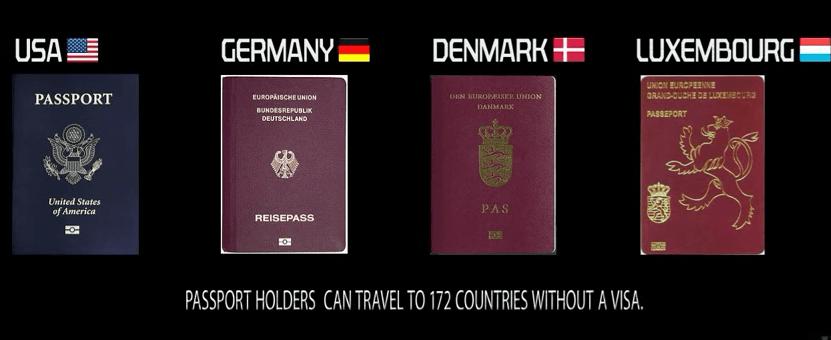 2nd most powerful passport