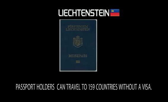 10th Most powerful passport in the world: Liechtenstein