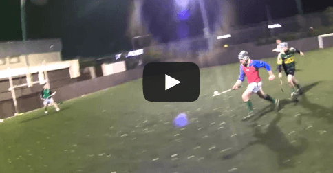 Video A guy took a GoPro to hurling training and the result is spectacular