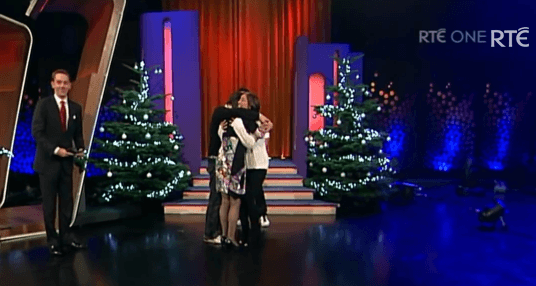 Mother is reunited with her daughter after three years The Late Late Show YouTube (1)