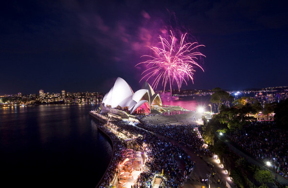 Top 7 Places You Should Be In Australia On December 31st 2014
