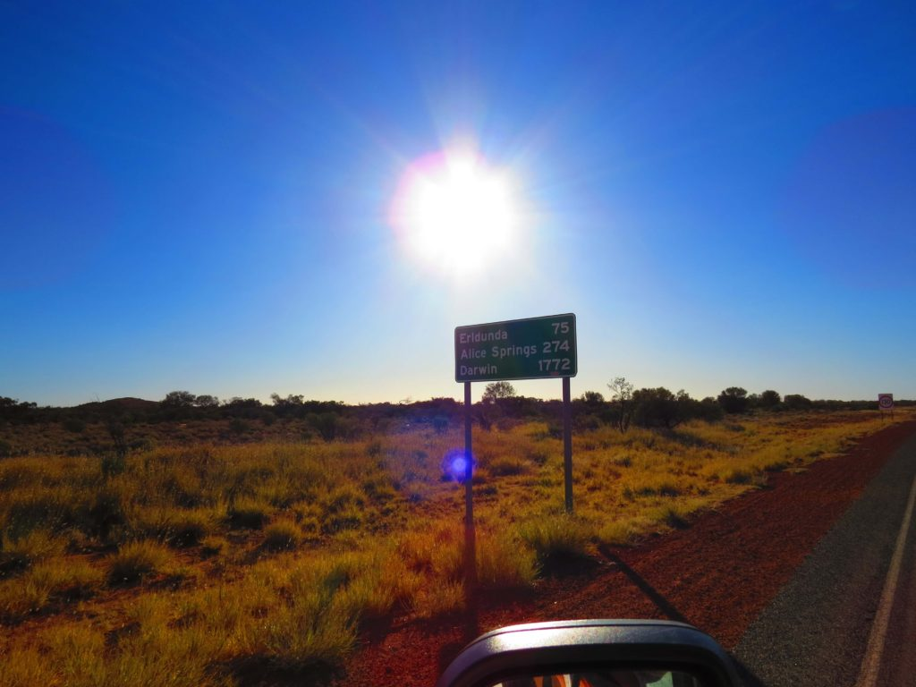 driving from sydney to darwin
