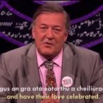Stephen Fry Speaks Irish In Fantastic Comedian Video Asking Irish People To Vote Yes