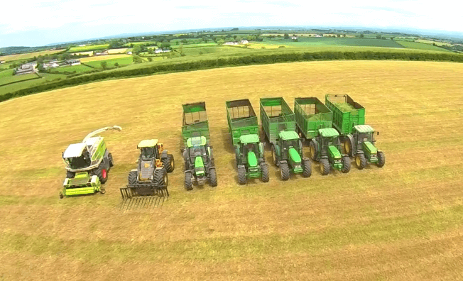 Silage Men 50 years Gobbling Grass YouTube (1)