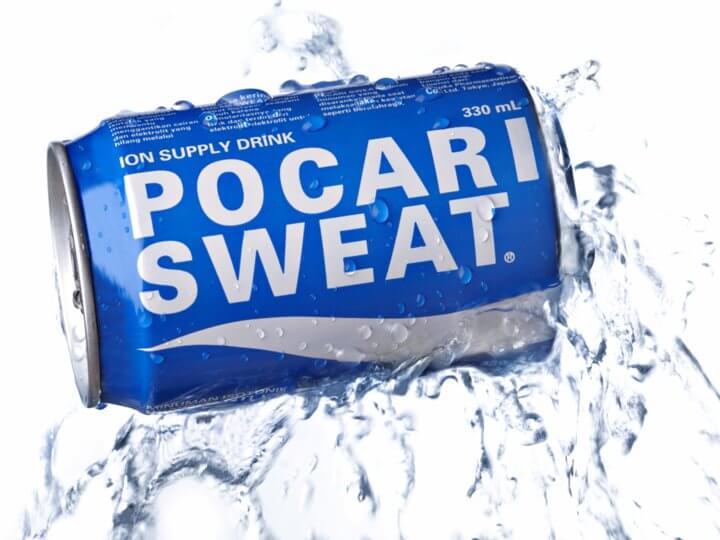 Pocari sweat hangover cure
