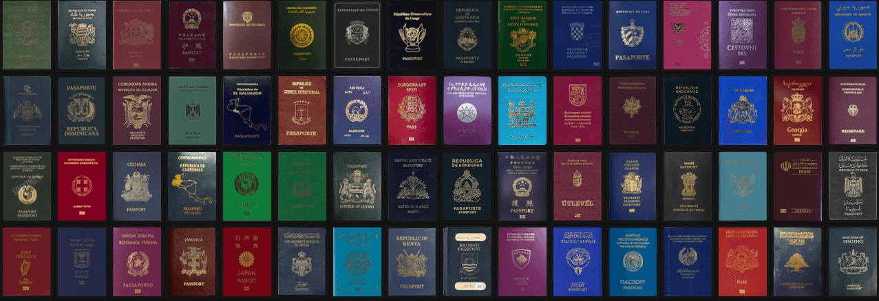 Top 80 passports in the world 2016