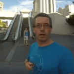An Irishman In Las Vegas With A GoPro(Backwards)