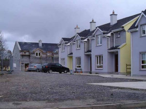 typical Irish houses - Ireland property tax depreciation Australia