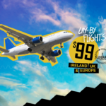 👀 June, July + August 2016 $99 Lay By Flights To Dublin
