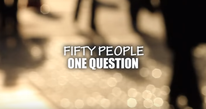 FIFTY PEOPLE ONE QUESTION GALWAY IRELAND 2011 by Kamil Krolak YouTube