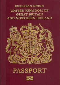 3rd Most Powerful Passport In The World - United Kingdom