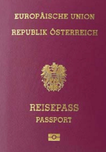 5th Most Powerful Passport In The World 2016 - Austria