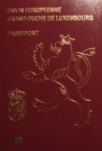 6th Most Powerful Passport In The World 2016 - Luxembourg