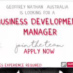 Job Opportunity: Business Development Manager Sydney