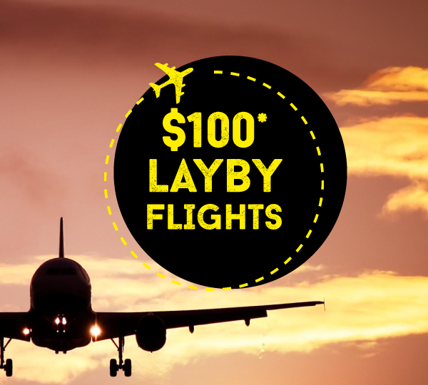 $100 doller lay by flights Australia to Ireland