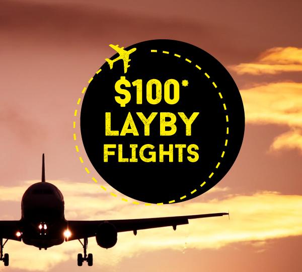 $100 doller lay by flights Australia to Ireland