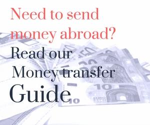 cheapest way to send mony to Ireland