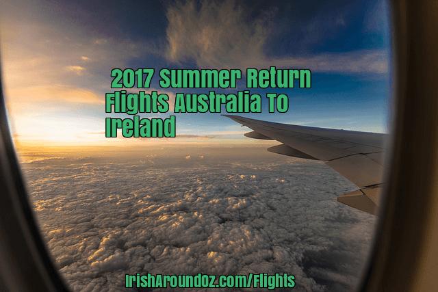2017 cheap flights to Ireland