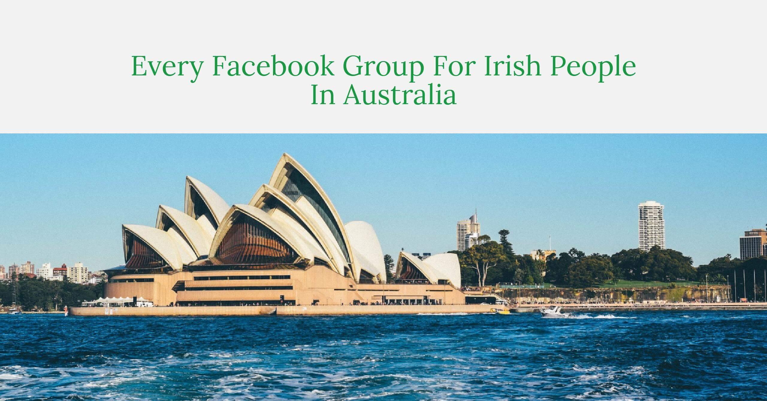 Facebook groups Irish People In Australia